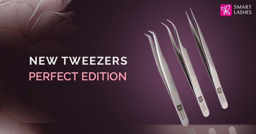 New tweezers Perfect line
