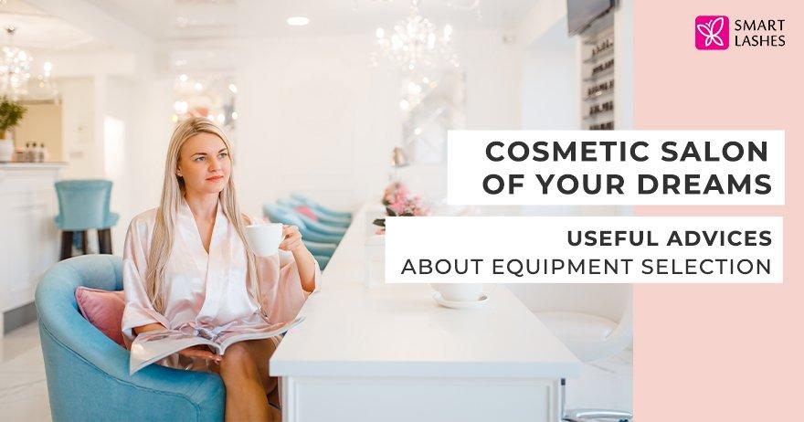 Cosmetics salon of your dreams
